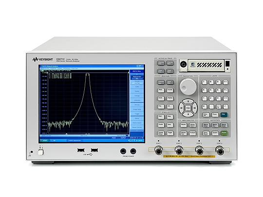 Keysight E5071C ENA Network Analyzer 300kHz-8.5GHz - Tru Cal International